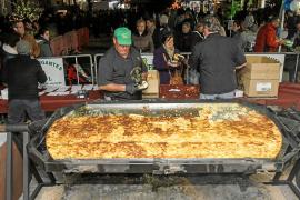 Carnaval comienza con una tortilla gigante