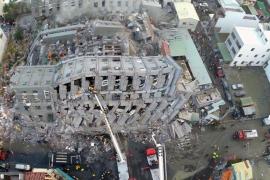 Al menos 23 muertos tras un terremoto en Taiwán