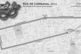 Todo preparado para la gran rua de Carnaval