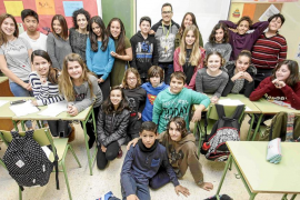 Alumnos de sa Blanca Dona proponen un plan de movilidad