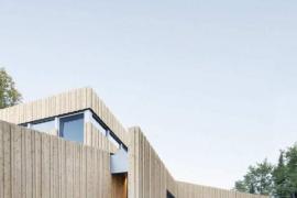 Wohnen in minimalistischem, naturgebundenem Stil
