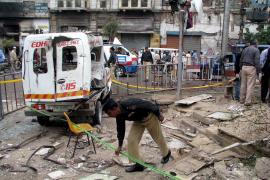 Un atentado suicida en Pakistán se salda con al menos treinta muertos
