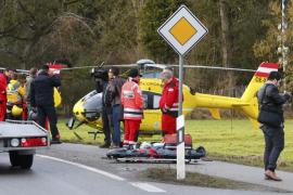 Al menos 10 muertos y más de 100 heridos en una colisión de dos trenes en Alemania