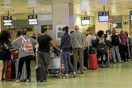 El aeropuerto de Eivissa registró en enero un aumento del 19% en el número de pasajeros