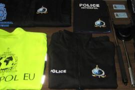 Detenido un hombre en Palma por hacerse pasar por un agente de la Interpol
