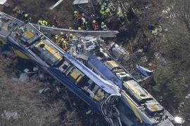 La fiscalía alemana atribuye el accidente de tren a un «error humano»