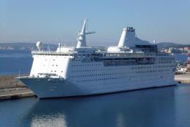 Balears recibió un 10 % más de cruceristas en 2015 que un año atrás