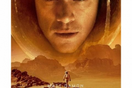 Proyección de 'Marte' en el Teatre de Capdepera