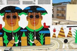 El ayuntamiento desconocía que los vecinos eliminarían el mural gigante