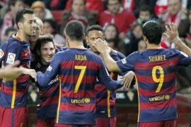El Barcelona vence al Sporting y ya tiene la ventaja deseada