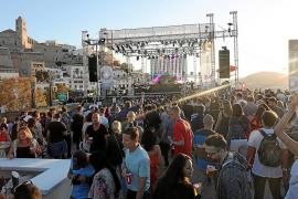 El ayuntamiento permitirá los conciertos en Dalt Vila pero aumentará las restricciones