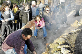 Santa Agnès prepara su tradicional 'Llum d'Ametller'