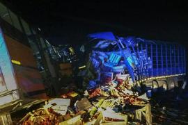 Al menos 71 muertos en una colisión entre un autobús y un camión en Ghana