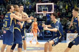 El Gran Canaria culmina la segunda sorpresa al eliminar al Valencia