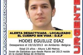 Hallan el cadáver de Hodei Egiluz, el joven vasco desaparecido en Amberes hace más de 2 años