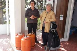 Quejas de los vecinos de Puig d'en Valls porque el butanero no pasa desde hace tres semanas