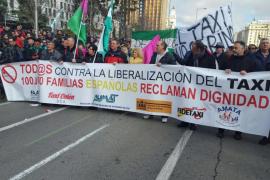 La asociación del taxi Corsaris d'Eivissa anuncia nuevas protestas contra los piratas