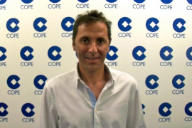 MADRID. RADIO. PACO GONZALEZ, PERIODISTA DE DEPORTES DE LA CADENA COPE.