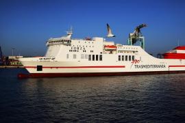 Trasmediterránea incorpora a su flota de Balears un buque para mil pasajeros