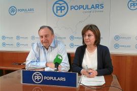 VÍDEO: Críticas del PP por la «incapacidad» del Consell para iniciar la carretera de Santa Eulària