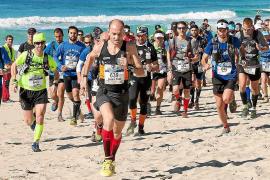 Medio millar de corredores en la Formentera All Round Trail