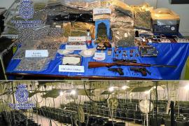 Desarticulan en Eivissa y Albacete una red de tráfico de drogas a gran escala