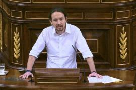 Iglesias carga con dureza contra Sánchez, Rajoy y Rivera