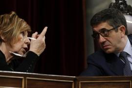 Bronca entre Sánchez e Iglesias y reprimenda de López
