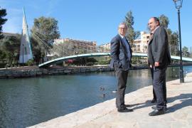 El Consell d'Eivissa entrega a Santa Eulària la obra de recuperación ambiental del río