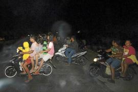 Una joven de Eivissa vive momentos de pánico en Sumatra por la alerta por tsunami