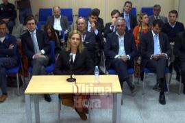 La infanta Cristina comienza a declarar en el juicio del caso Nóos