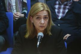 Cristina de Borbón, ante el tribunal del caso Nóos