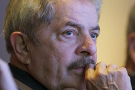 La Policía federal se lleva a Lula a  declarar por su implicación en la operación 'Lava Jato'