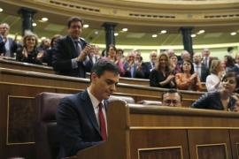 Pedro Sánchez pide a Iglesias que «no traicione» a sus votantes