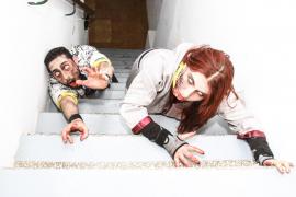 VÍDEO: Sant Antoni en cuarentena por invasión zombi