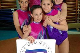 Tres podios para el Club Gimnàstica Sant Rafel en Alcúdia