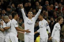 Keylor frena al Roma y Cristiano impulsa el sueño del Real Madrid