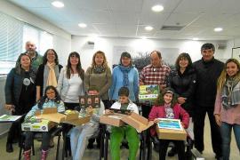 Cuatro escolares de Formentera, finalistas en el Concurso de Dibujo Infantil de Aqualia