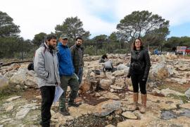 4.418 euros para los trabajos  del  yacimiento de es Cap de Barbària