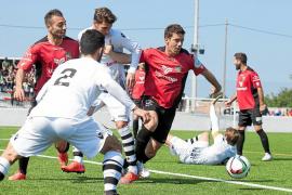 El Formentera se aleja de la liga
