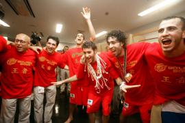Rudy Fernández con la selección española