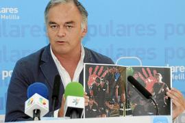 El PP denuncia la «situación de máxima tensión» en la frontera de Melilla