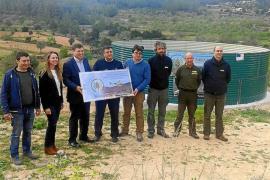 Eivissa refuerza su estructura contra incendios con un nuevo depósito de agua