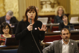 Armengol critica la «mala actitud» del Ministerio de Agricultura respecto a la sequía en Balears