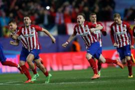 Juanfran y 16 penaltis clasifican al Atlético
