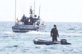 La Guardia Civil interviene 4 fardos con 83 kilos de cocaína en Es Migjorn