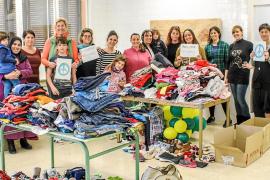 Los ibicencos se solidarizan y envían ayuda a los refugiados sirios de Lesbos