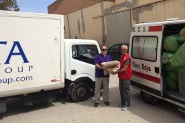 La Fundación Abel Matutes dona material a la Unidad de Emergencia Social de Cruz Roja de Eivissa