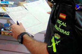 Detenido al embarcar con más de dos kilos de cocaína rumbo a Eivissa