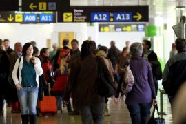 Cancelados 33 vuelos en Palma por la huelga de controladores franceses